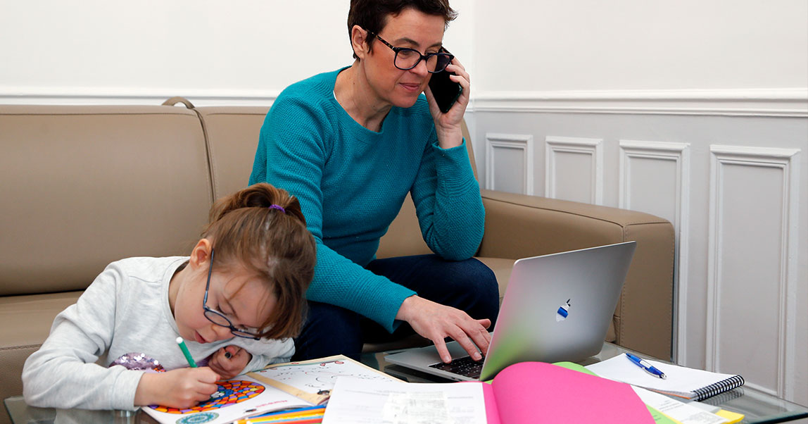 Как работать из дома, если у тебя есть дети