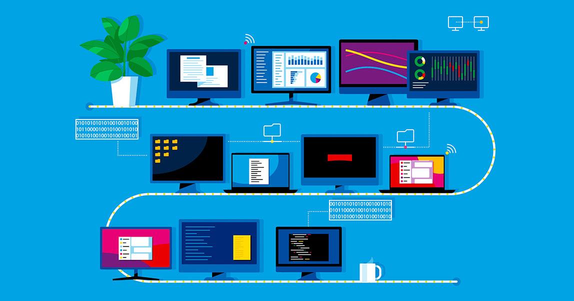 На чем стоит цифровизация: оптоволокно, микропроцессоры и память