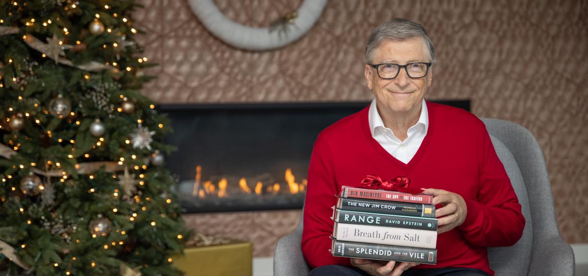 Билл Гейтс посоветовал 5 хороших книг, которые прочитал в паршивом 2020 году