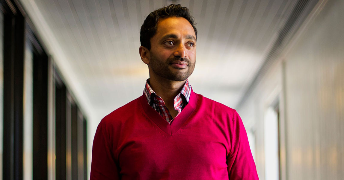 «Чтобы стать предпринимателем, нужно разозлиться». Основатель Social Capital Чамат Палихапития — о быстром успехе, ошибках и смысле денег
