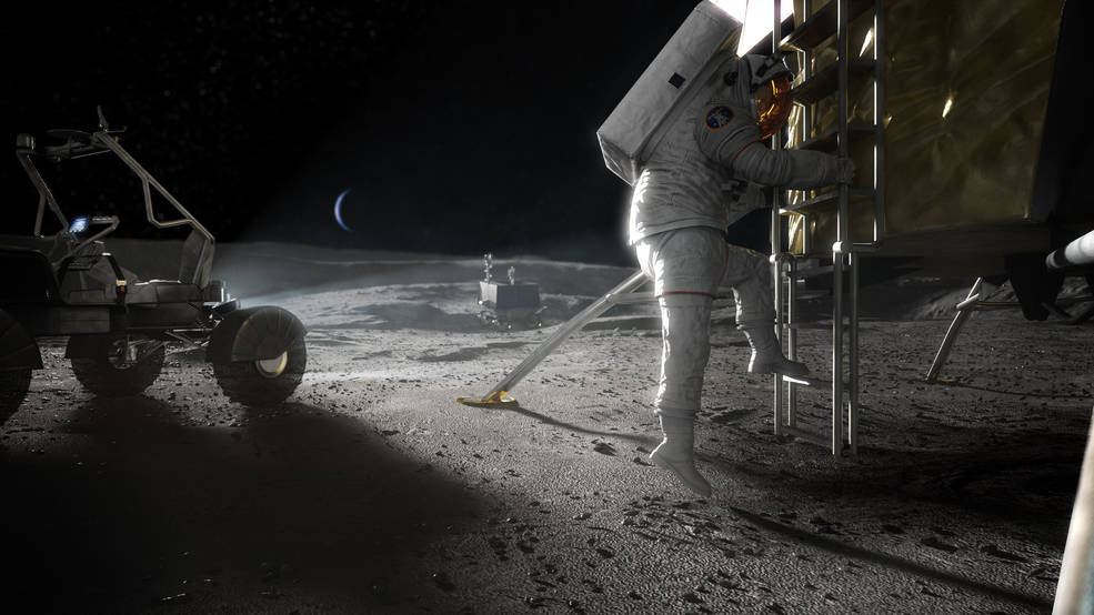 NASA выделит SpaceX, Blue Origin и еще трем компаниям $146 млн на разработку лунного посадочного модуля