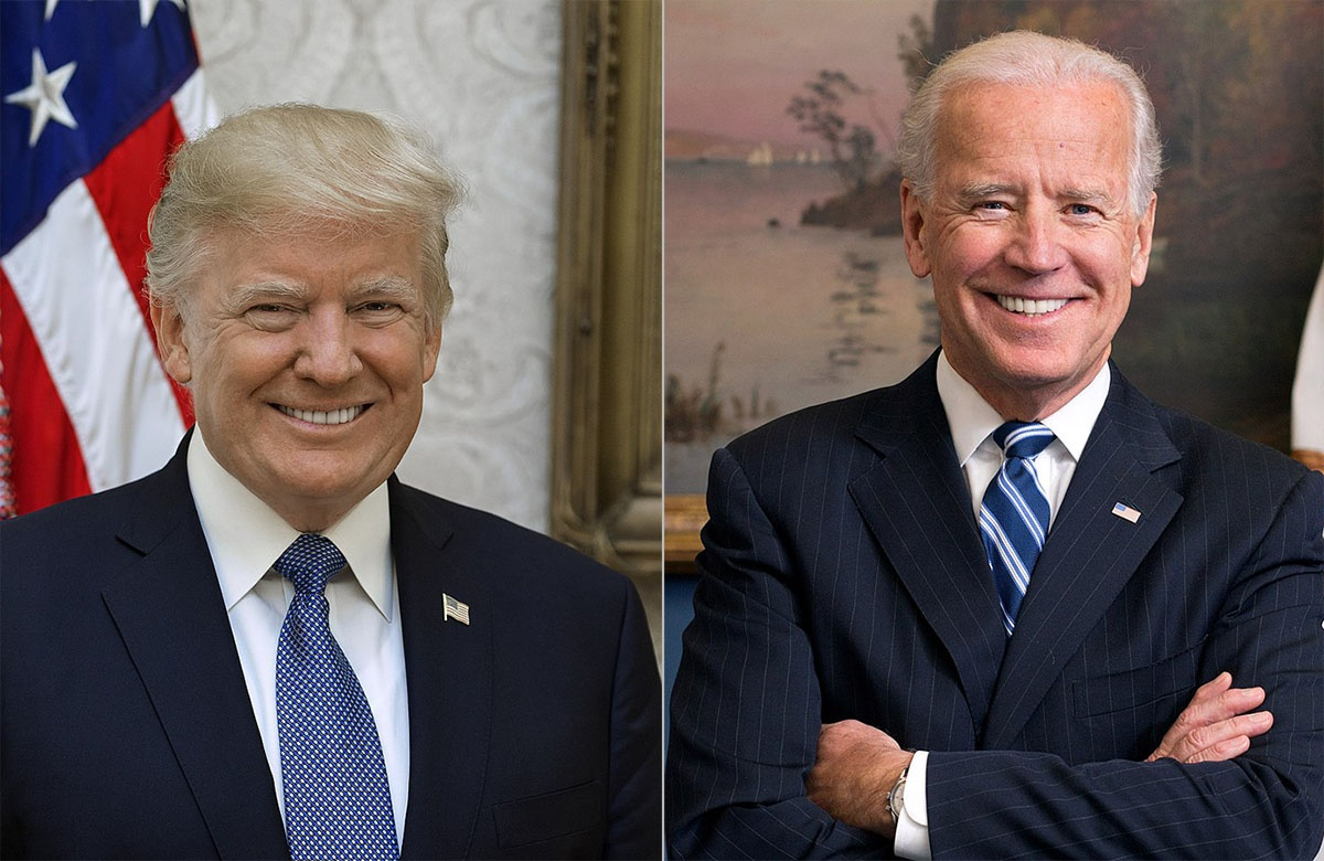 Трамп против Байдена