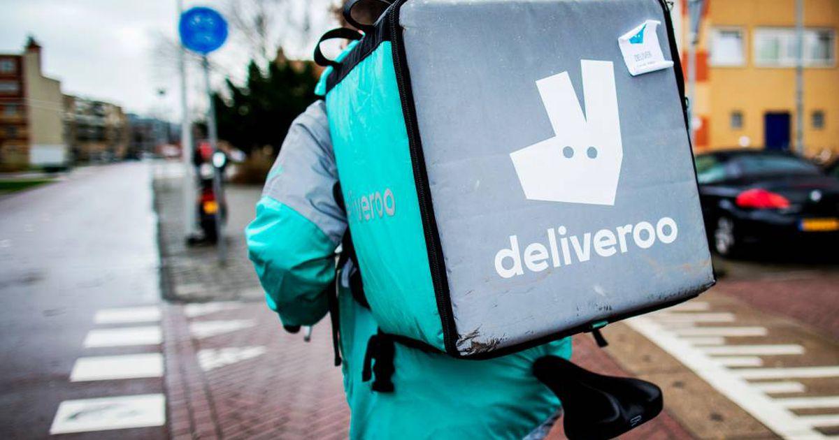 Логотип Deliveroo