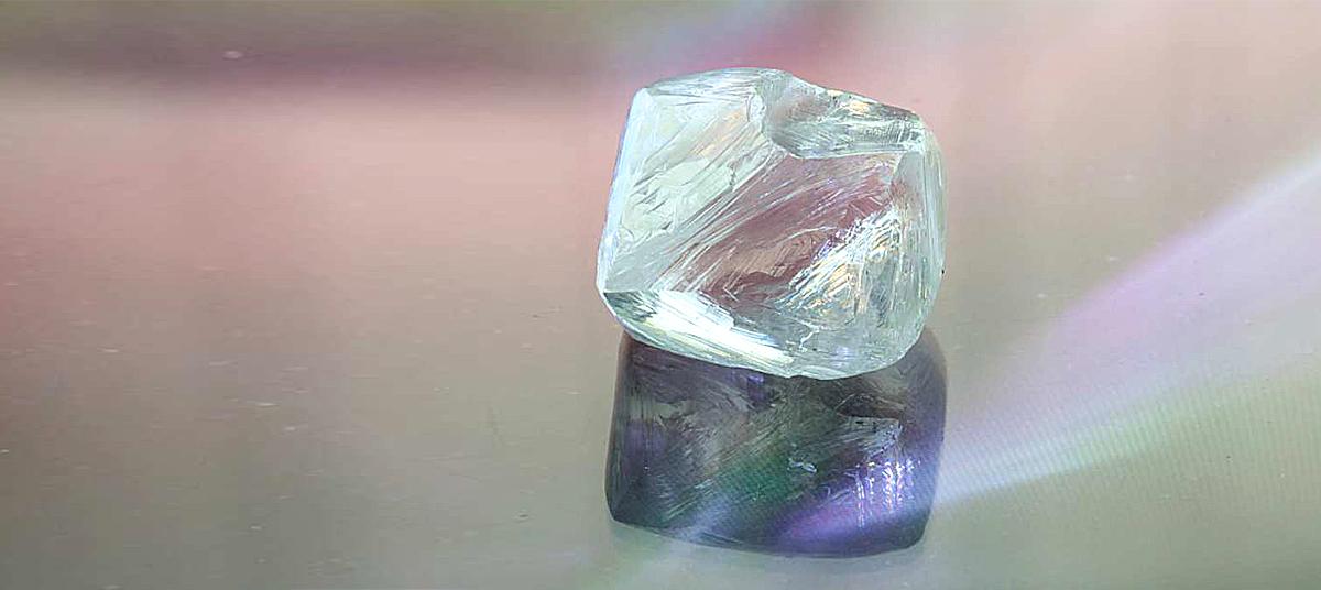 ИМенной алмаз Алроса