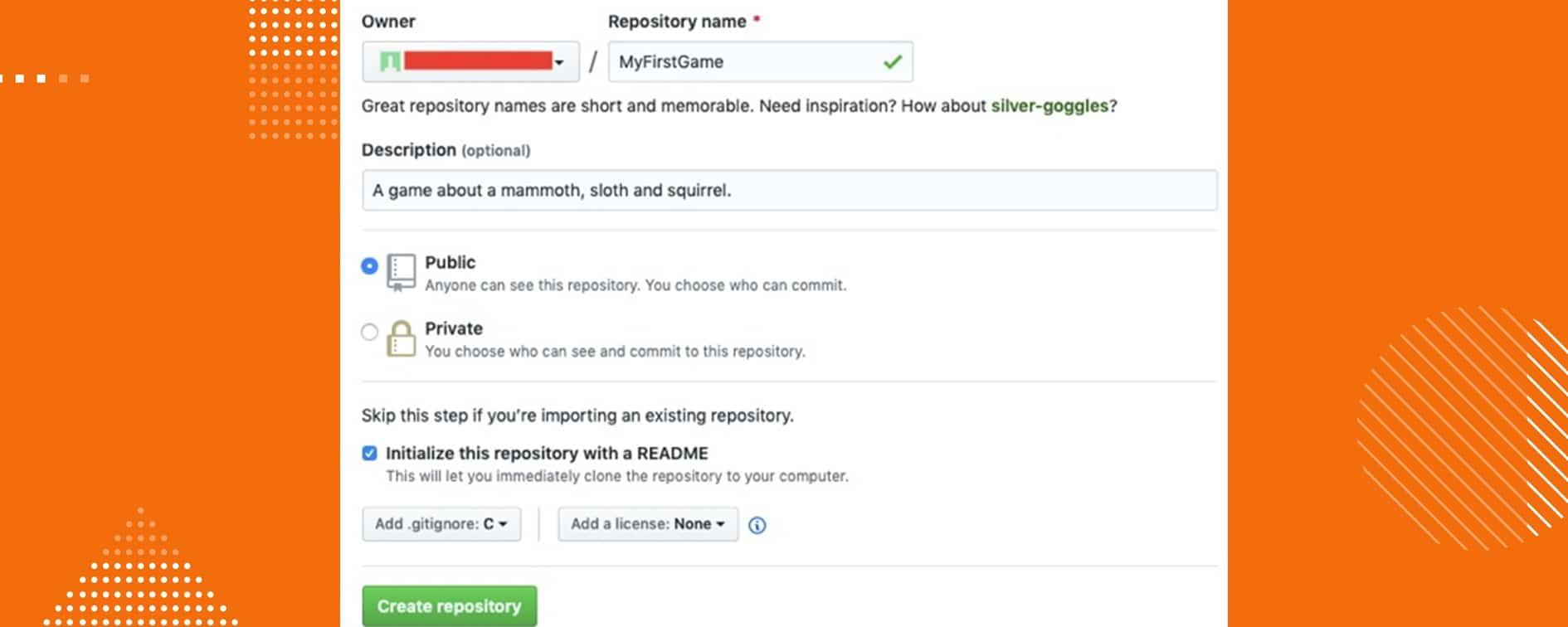 Как пользоваться GitHub. Пример репозитория