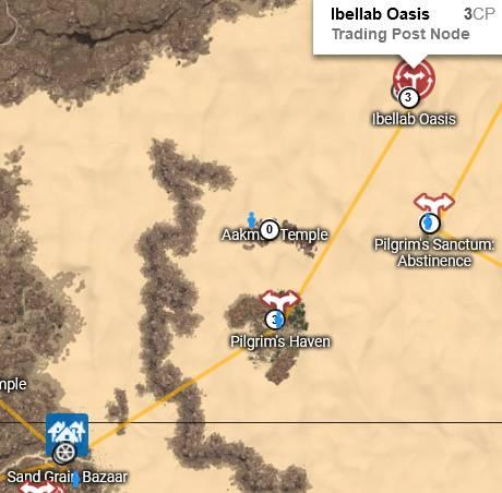 Ibellab Oasis Map