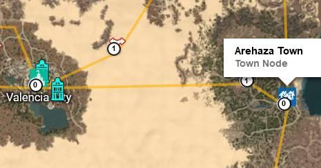 BDO Arehaza Town Map