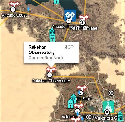 BDO Rakshan Observatory Map