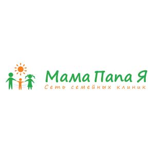 Логотип Мама Папа Я