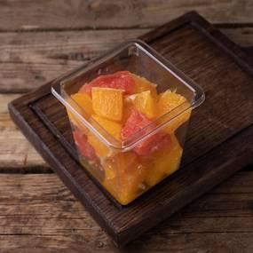 Апельсин и грейпфрут дольками ~ 300 гр.