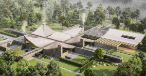 Новый оздоровительный центр на Лужнецкой набережной будет похож на пагоду