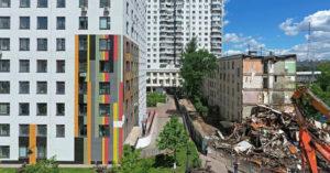 Сегодня опубликована программа сноса 5053 московских домов до 2032 года