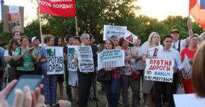 Сегодня пройдет акция против строительства Юго-Восточной хорды на радиоактивном могильнике