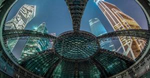 Вот такой киноконцертный зал под прозрачным куполом появится в «Москва-Сити» через год