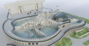 Вот такой павильон «Ластоногие» будет через год в Московском зоопарке