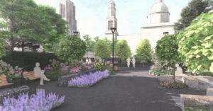 На месте склада в Таганском районе разобьют монастырский сквер