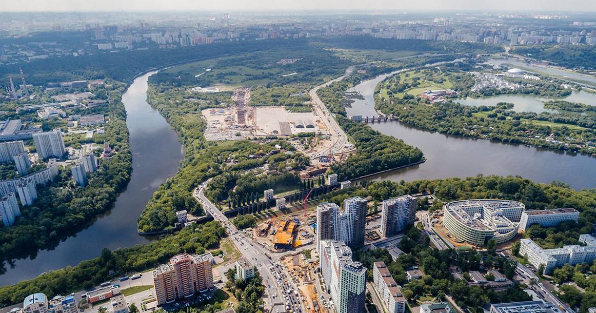 Донстрой» застроит 40 гектаров Мневниковской поймы — Москвич Mag