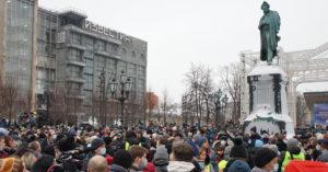 «Не страшно»: как прошел сегодняшний митинг на Пушкинской площади