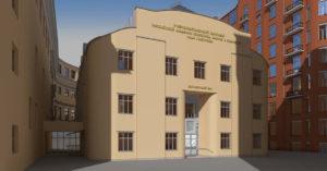 Корпус академии Ильи Глазунова на Мясницкой восстановят по проекту Шухова и Курдюкова