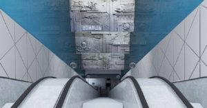 Вот как будет выглядеть станция «Давыдково», посвященная МЧС