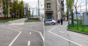 Жители Коптево добились своего — «пьяную» велодорожку на Большой Академической переделают
