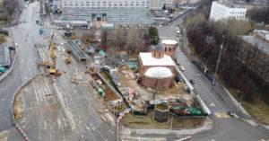 На месте сквера в Зюзино хотят построить воскресную школу при храме