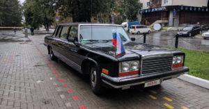 В Москве за 37 миллионов рублей продается представительский ЗИЛ 1984 года