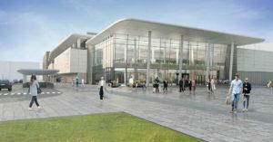 В октябре в Солнцево откроется огромный ТРЦ с прозрачным фасадом
