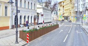 Рестораторы просят мэрию разрешить строить летние кафе на месте парковок