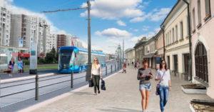 Ждали 40 лет: по улице Сергия Радонежского в Таганском районе вновь поедет трамвай