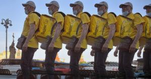 Курьеры откажутся обслуживать Перово и Новогиреево, если «Яндекс» не пересмотрит условия труда