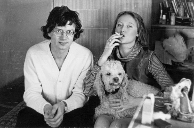 Елена Щапова и Эдуард Лимонов, 1974