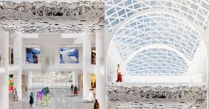 Светящийся торговый центр «Небо» в Солнцево откроется в конце года