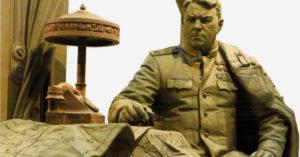Памятник маршалу Василевскому поставят перед зданиями Минобороны на Фрунзенской набережной