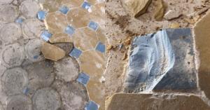 В доме на Новослободской уничтожают дореволюционную метлахскую плитку