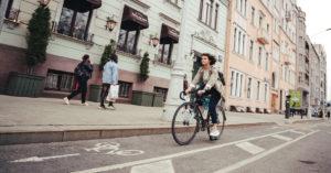 Вдоль канала им. Москвы начали прокладывать велодорожку в Петербург