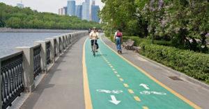 Новое велосипедное кольцо свяжет большинство крупных московских парков