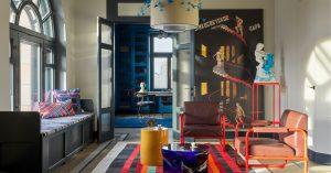 Квартира недели: авангардная в жилом корпусе гостиницы «Украина»