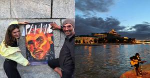 Жительница Таганского организовала концерт бездомному уличному музыканту