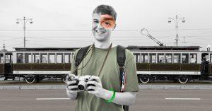 Московский персонаж: фанат транспорта