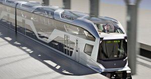 Вот такой поезд с панорамными окнами и обзорной площадкой хотят пустить по железным дорогам