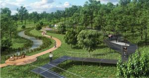 Вместо пустыря у «Кантемировской» появится парк