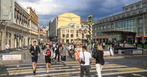 Внутренний поток туристов в Москву восстановился на 90%