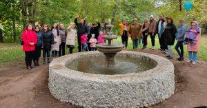 Посмотрите, как отремонтировали откопанный жителем Покровского-Стрешнево фонтан