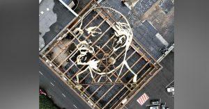 Посмотрите на гигантский стальной профиль Ленина, сохранившийся в Алтуфьевском районе