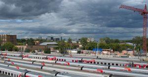 Напротив Рижского вокзала собрались строить новый — для высокоскоростных поездов