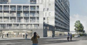 Вдоль реки на Симоновской набережной построят вот такие высотки с открытыми балкончиками