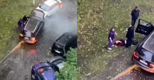Нетрезвый водитель выезжал из двора и разбил семь машин