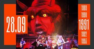 Ровно 30 лет назад легендарный концерт «Монстры рока» превратился в «Тушинское побоище»