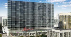 Вот этот бизнес-центр на проспекте Вернадского международное жюри признало лучшим в мире